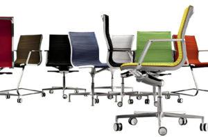 Eleganter Schreibtischstuhl für jede Sitzgelegenheit, verschiedene Farben